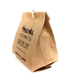 Handmade Thank you favor bag  Wedding favor  Paper by AnnsPaperie, $1.25