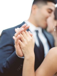 Blissful bride + groom moment: www.stylemepretty... | Photography: Christine A Clark - www.christineclar...
