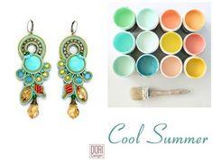 It's a cool summer with Dori's Celeste earrings! #DoriCsengeri #ss2016 #fashionaccessories #springtrends #trendyearrings