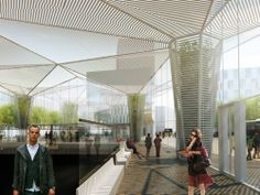 Train Station / Metro Architects