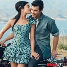 demi lovato-teen-vogue Demi Lovato y Joe Jonas posaron juntos para Teen Vogue blusidetv.blogspot.com