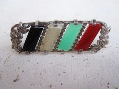 Art Deco 1920s 1930s Sterling Bar Pin