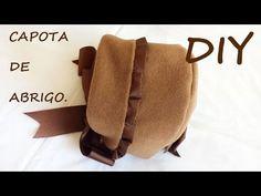 Capota abrigo de niña con patronesmujer.com. - YouTube