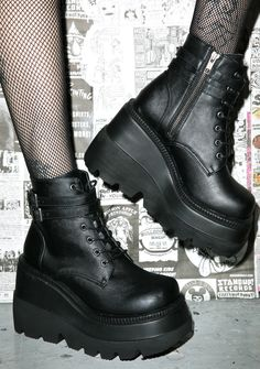 Demonia Technopagan Boots | Dolls Kill