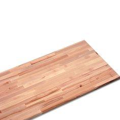 Massivholzplatte  (Buche, 240 cm x 80 cm x 2,7 cm)