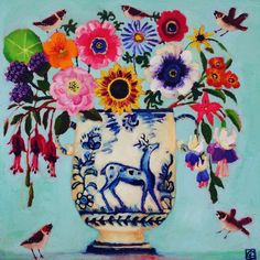 Buy Vanessa Cooper Paintings online from White Space Art, Totnes. Henri Matisse, Vanessa Cooper, Online Painting, Paintings Online, Flash Art, Naive Art, Gouache, Oeuvre D'art, Collage Art