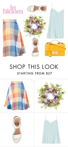 """""""In Bloom"""" by pattykake ❤ liked on Polyvore featuring BEA, New Look and Salvatore Ferragamo"""