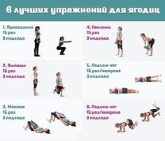 Упражнения для ягодиц. 30 Day Fitness, Health Fitness, Workout Gear, Gym Workouts, Sport Food, Body Training, Stay In Shape, Yoga Flow, Gym Rat