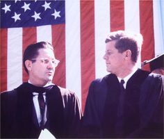 William Friday and John F. Kennedy; University Day, October 12, 1961
