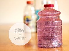 Make your own discovery bottles!!!  What a neat idea.