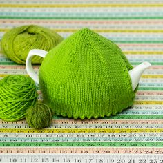 Picot Hem Basic Tea Cosy from PRETTY FUNNY TEA COSIES published Murdoch Books… More
