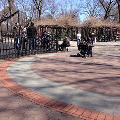 Central Park: Rudin Family Playground - New York City, NY #Yuggler #KidsActivities #NYC