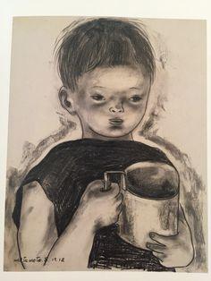 松本竣介 1912-1948 Shunsuke Matsumoto 子供 child 1943