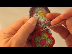 ▶ Crochet Join-as-you-go - YouTube