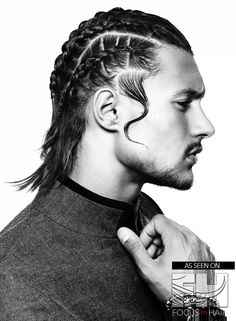 The Brute Force Collection by Carole Haddad of Corcorz Hair in Brisbane, Australia http://focusonhair.com/article/brute-force-mens-hairstyle-trends