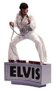 Elvis - Las Vegas Mcfarlane Figure
