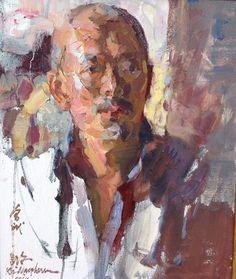 "Kevin Macpherson 18/15 oil on canvas  ""Yi Shu Jia """