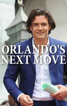 Orlando Bloom came by Ellen to discuss the movie The Hobbit: The Battle of the Five Armies and to talk about whether or not he's going to cut his long hair. Ellen Degeneres Show, Armies, Orlando Bloom, A Decade, New Movies, The Hobbit, Make You Smile, Comedians, Hobbit