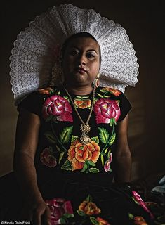 Muxes of Mexico, the highly respected, small town population of crossdressers considered to be good luck.