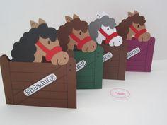 Einladungen - Einladungskarten Kindergeburtstag Pferde - ein Designerstück von bagiolo bei DaWanda
