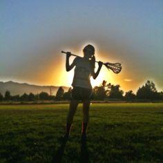 Lacrosse girl- Allie Huish #2 varsity