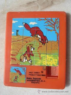 The Fox and the Hound slide puzzle Right In The Childhood, 90s Childhood, Childhood Memories, Retro Toys, Vintage Toys, Tod Y Toby, Karate Kid, The Fox And The Hound, My Generation