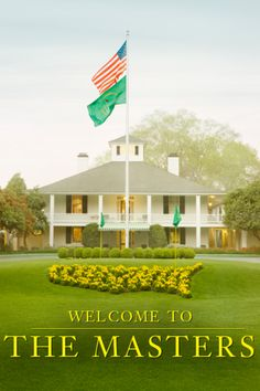 Welcome To The Masters ~ The Only Major Golfing Championship To Be Held At The Same Location Every Year~The Augusta National Golf Course~ Love The South!