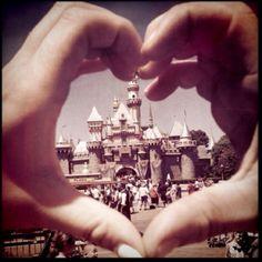 Disneyland Heart- taken by Dani Baker (instagram- Brotato)