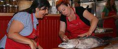 Slow Food Portland - Tuna Canning Class