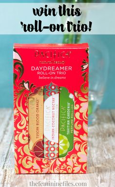 Pacifica Daydreamer Rollerball Trio Giveaway! Ends 3/15