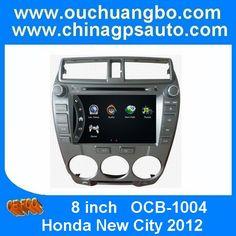 Ouchuangbo Car GPS Navigator DVD Player Honda New City 2012 Bluetooth Smart TV