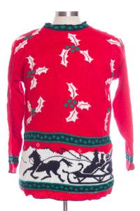 Red Ugly Christmas Pullover 29334