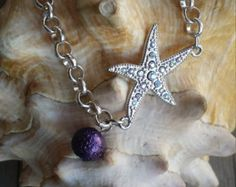 A really cute Star Fish Bracelet !! Visit my shop....etsy.com/sweetbobbles