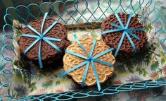 Flavoured Italian pizzelle cookies... Possible wedding favors?