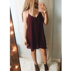 NEW ARRIVAL! The perfect holiday dress for 20% OFF!  Tinsel Chiffon Tank Dress- $26.40 with FREE SHIPPING!