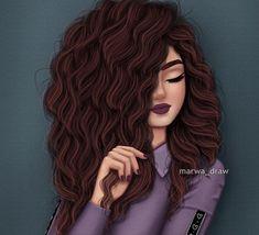 Image may contain: 1 person Girl Drawing Sketches, Girly Drawings, Girl Sketch, Cartoon Girl Images, Cute Cartoon Girl, Cartoon Art Styles, Beautiful Girl Drawing, Cute Girl Drawing, Arte Bob Marley