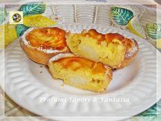 Tortine di pasta frolla con riso e crema pasticcera Blog Profumi Sapori & Fantasia