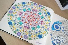 jardim secreto colorir - Pesquisa Google
