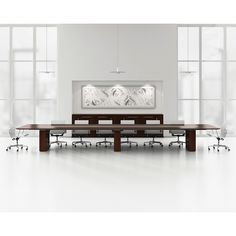 Caucus Conference Table & Credenza - Geiger