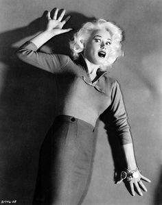 """The Beat Generation"" 1959 Mamie Van Doren #horror harem #the beat generation #1959 #movie #still #mamie-van-doren"