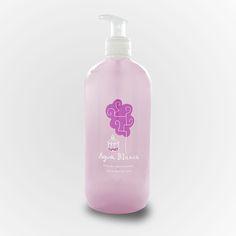 Gel del Agua Blanca, suave y delicado con la piel, sin parabenos puede ser utilizado por las pieles más sensibles, con un delicioso olor a Agua Blanca
