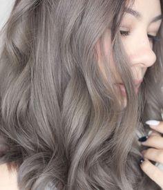 ash gray hair