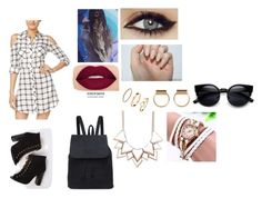 """""""Just do you"""" by ashwagx on Polyvore featuring Material Girl, Smashbox and Full Tilt"""