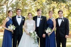 formal bridal party | Elisabeth Millay #wedding