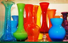 retro vases