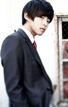 Dongho from U-Kiss. One of the three biases I have from U-Kiss