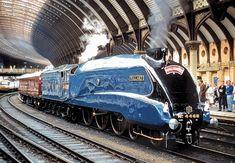 Mallard Train, Big Boy 4014, Union Of South Africa, Flying Scotsman, National Railway Museum, Famous Pictures, Ferrari Laferrari, British Rail, Train Pictures