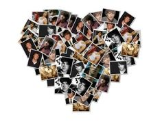photo collage site that allows you to shape as many photos in whatever shape you like!