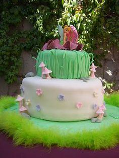 Tinkerbell cake. Love it