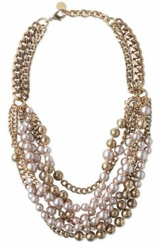 Stella & Dot Lucia Pearl Necklace
